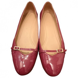 Salvatore Ferragamo Purple Patent leather Ballet flats