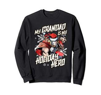 Marvel Thor Grandad Holiday Hero Christmas Sweatshirt
