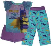 Lego Batman Movie Girls Batgirl Pajamas 4-12 (4/5)