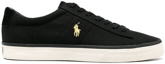 Polo Ralph Lauren Logo-Embroidered Low-Top Sneakers