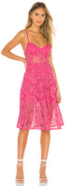 Lovers + Friends Angela Midi Dress