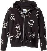 Nununu Skull Mask Hoodie Boy's Sweatshirt
