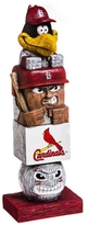 Evergreen Cardinals Tiki Totem