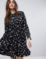 Yumi Long Sleeve Tea Dress