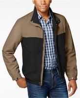 Perry Ellis Men's Big & Tall Micro Color Block Jacket