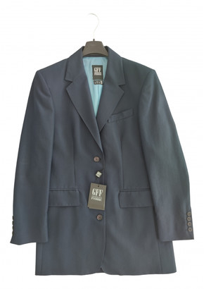 Gianfranco Ferre Blue Wool Jackets