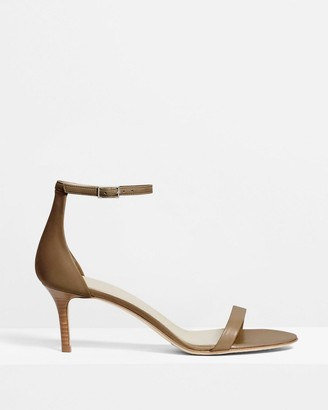 Theory Strap Sandal in Leather