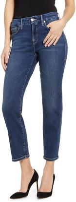 Good American Good Petite Straight Leg Jeans