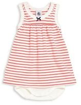 Petit Bateau Baby's Sleeveless Striped Dress