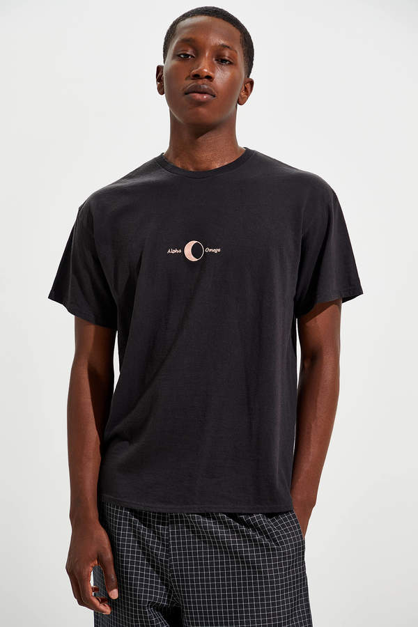 Urban Outfitters Embroidered Alpha Omega Tee