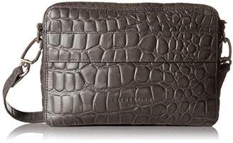 Liebeskind Berlin Women's Village Croco Embossed Leather Crossbody