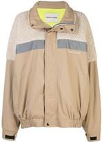 Sandy Liang Essos fleece-panelled jacket