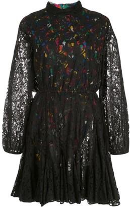 Rhode Resort A-line lace dress