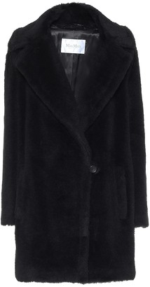 Max Mara Fiocco alpaca, wool and silk coat