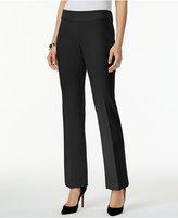 Alfani Petite Straight-Leg Pants, Only at Macy's