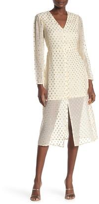 NSR Nicola Midi Dress
