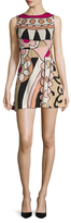 RED Valentino Print Fit And Flare Dress
