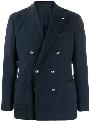 Lardini double-breasted jacket