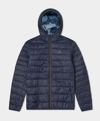Barbour Harg Quilted Jacket Navy