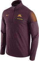 Nike Men's Minnesota Golden Gophers Elite Coaches Half-Zip Pullover