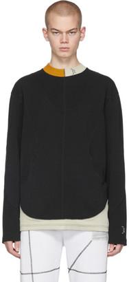 A-Cold-Wall* Black Overlock Long Sleeve T-Shirt