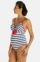 Pez D'or Women's 'Palm Springs' One-Piece Maternity Swimsuit