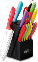 Oster 14-pc. Cutlery Set with Wood Storage Block