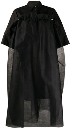 MM6 MAISON MARGIELA Layered Shirt Dress