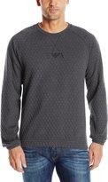 Emporio Armani Men's Matelasse Pullover Sweatshirt
