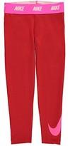 Nike Little Girls' Dri-Fit Leggings (Sizes 4 - 6X) - red, 4