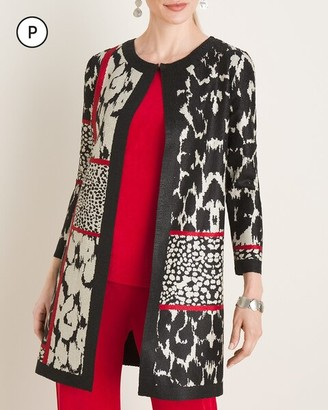 Travelers Collection Petite Crushed Patchwork Jacket