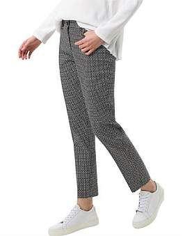 Brax Maron Geometric Stretch Pant