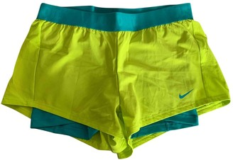 Nike Green Shorts for Women