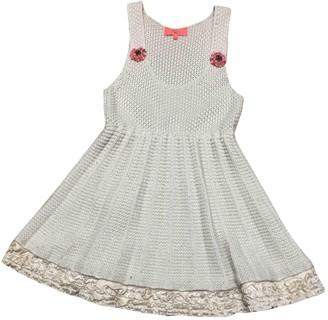 Manoush Beige Wool Dress for Women