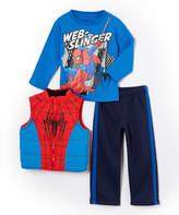 Children's Apparel Network Red Spider-Man 'Web-Slinger' Tee Set - Toddler