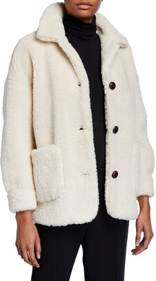 MKT Studio Metty Faux-Fur Teddy Coat