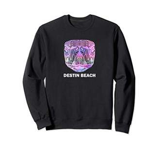 Destin Beach Florida Hippie Tribal Sea Turtle Sweatshirt