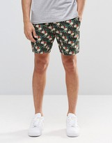 French Connection Parrot Tropical Print Shorts