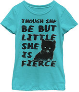 Fifth Sun Tahiti Blue 'She Is Fierce' Crewneck Tee - Girls