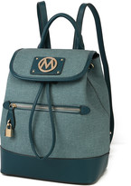 Mkf Collection By Mia K. MKF Collection by Mia K. Women's Backpacks - Teal Drawstring Backpack
