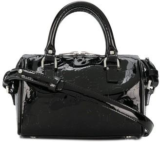 Misbhv Patent Top Handle Tote Bag