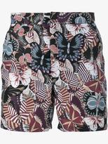 Valentino 'Camubutterfly' swim shorts