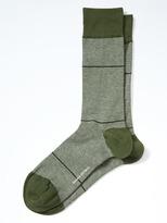 Banana Republic Luxe Mini Stripe Sock