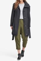 Andrew Marc Navarre Hooded Rain Jacket