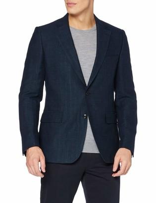 Gant Men's Harringbone Long Sleeve Blazer