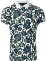 Etro floral print polo shirt - men - Cotton - M