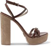 Michael Kors Alma leather platform sandals