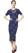 Marc by Marc Jacobs Checked Stretch Dress