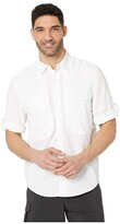 Royal Robbins Expedition Chill Long Sleeve (White) Men's Long Sleeve Button Up