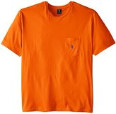 U.S. Polo Assn. Men's Big-Tall Crew Neck Pocket T-Shirt with Small Pony